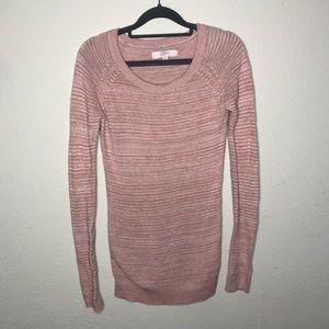 LOFT Pale Dusty Pink Sweater XS